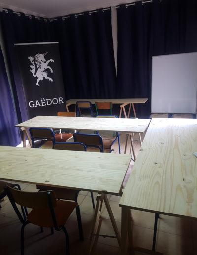 Salle de classe et d'animation culturelle